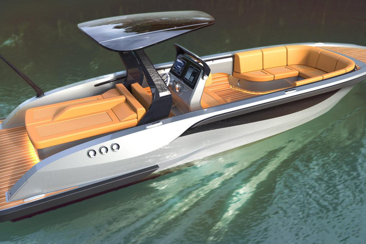Open Tender boat