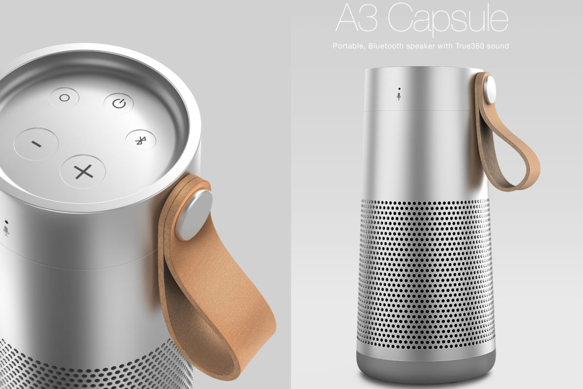Bluetooth Speakers design by Hamid Bekradi
