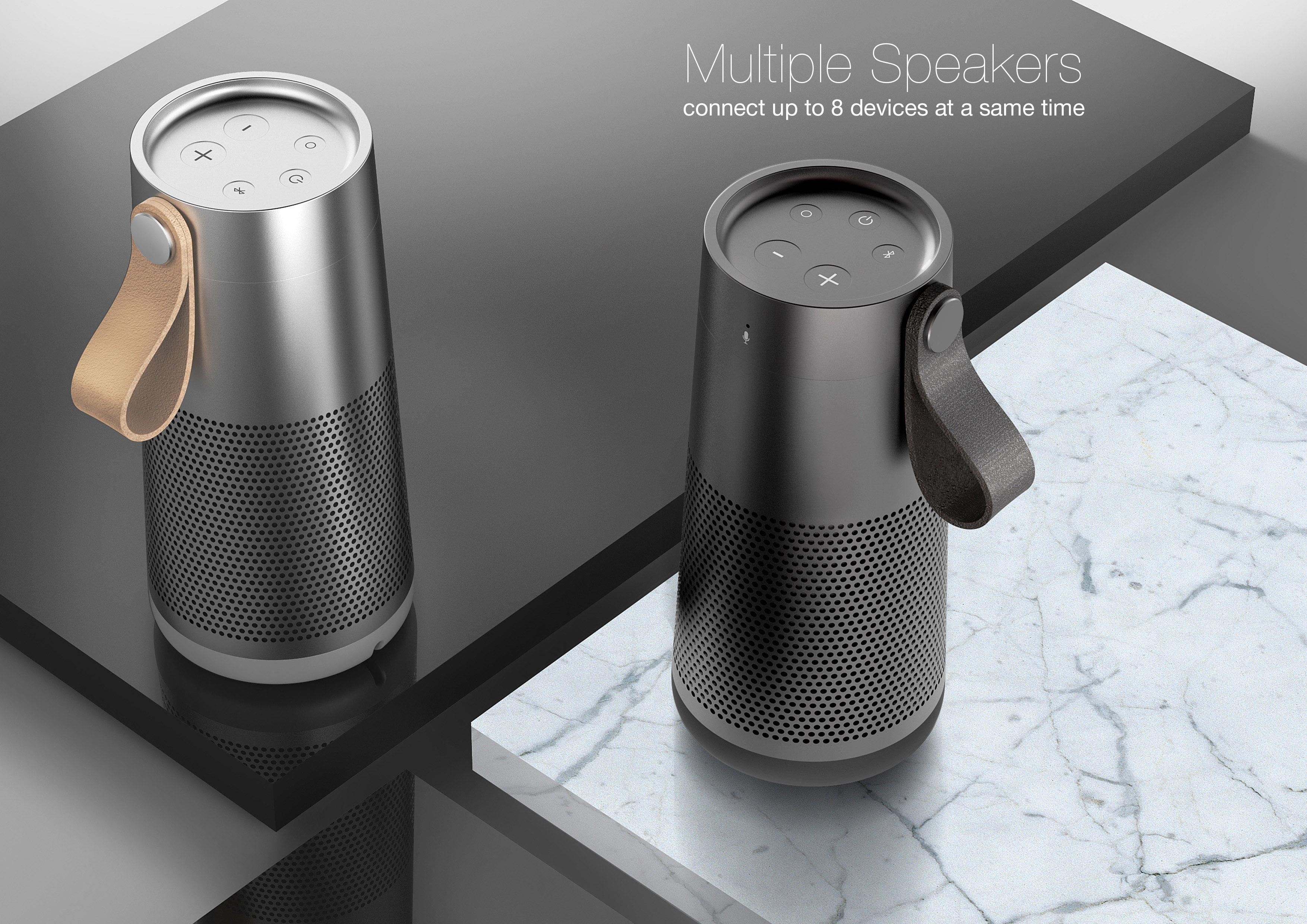 hamid bekradi bluetooth portable speakers hamid bekradi. Black Bedroom Furniture Sets. Home Design Ideas